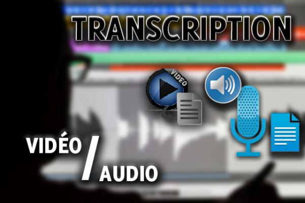transcrire votre Vidéo ou Audio (Français/Anglais/Arabe)