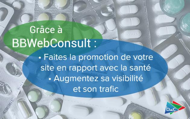 promouvoir les sites en rapport avec la santé
