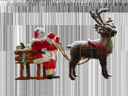 vous souhaiter une bonne année déguisée en renne de noël