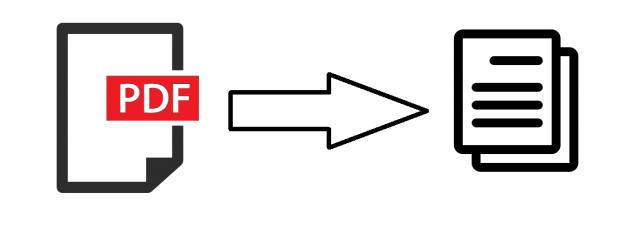 convertir vos documents PDF en document Word/Openoffice