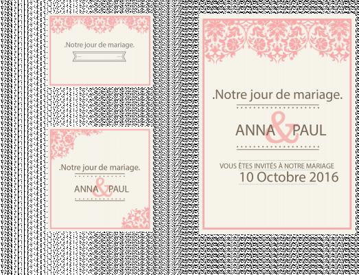 créer vos invitation pour vos mariage
