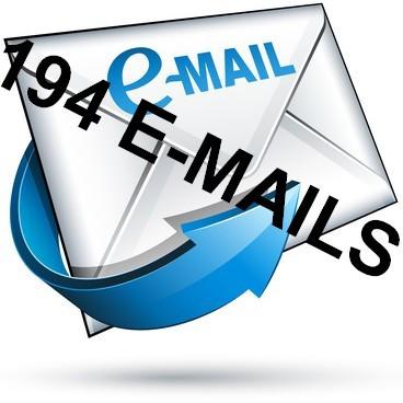 vous donner une liste de 194 e-mail validé des client francais B2C