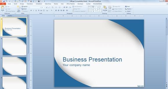 faire votre présentation PowerPoint