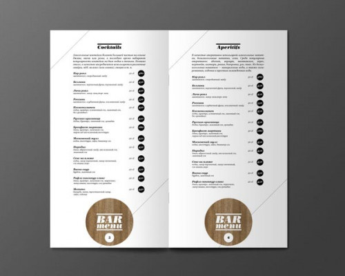 vous réaliser une carte des menus de votre restaurant