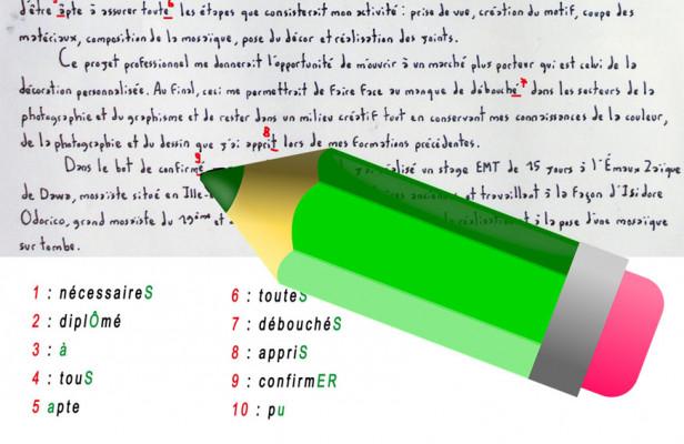 corriger les fautes d'orthographe sur vos textes et sur vos documents