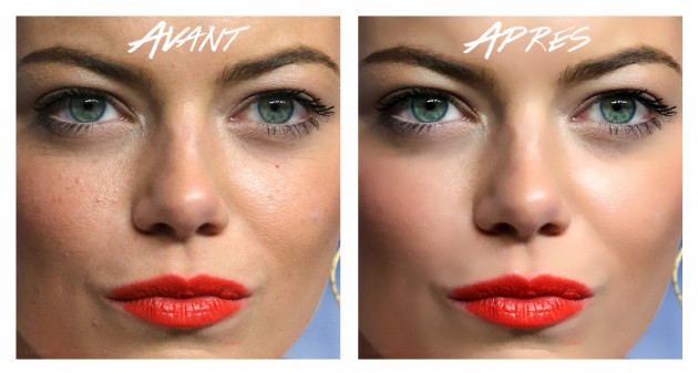 retoucher des imperfections de la peau sur 1 à 5 photos