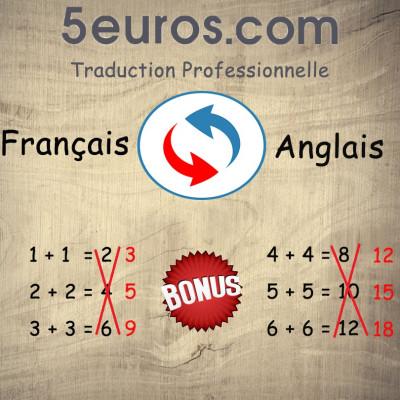 réaliser une traduction professionnelle Français - Anglais
