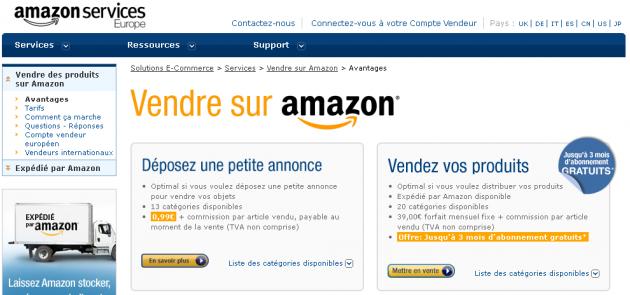 vous conseiller sur comment vendre sur Amazon