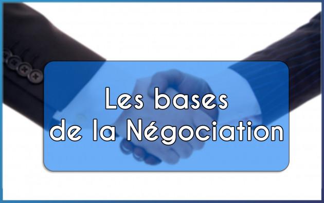vous apprendre à négocier