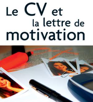 vous faire une lettre de motivation / CV