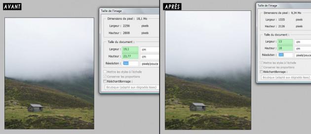 redimensionner vos photos aux dimensions de votre choix