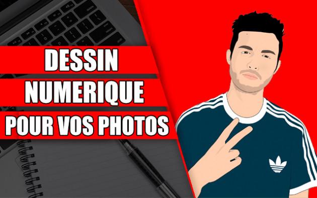 créer un dessin numérique à partir de votre photo