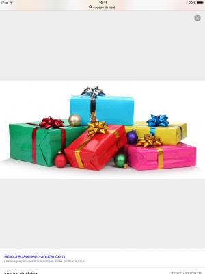 vous trouver 5 cadeaux de Noël originaux