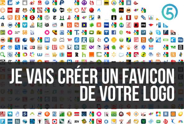 créer un FAVICON de votre Logo