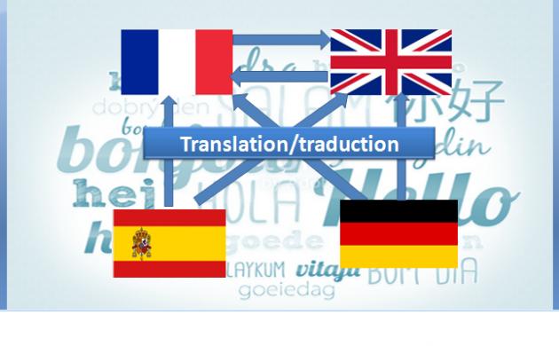 traduire parfaitement les textes en français et en anglais