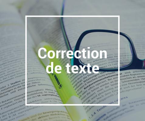 relire et corriger tous vos écrits  (Romans,  Articles, Rapports, CV ...)