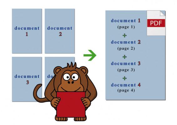 regrouper tous vos documents en 1 SEUL document imprimable