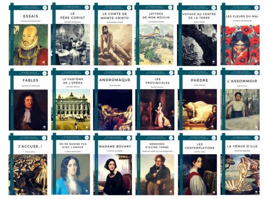 """Résultat de recherche d'images pour """"Les classiques de la littérature française"""""""