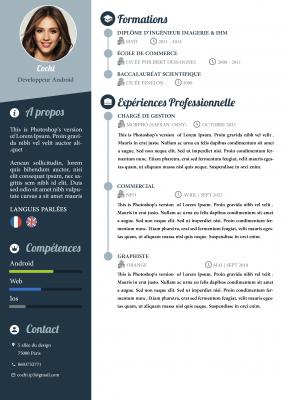 concevoir un CV design et personnalisé