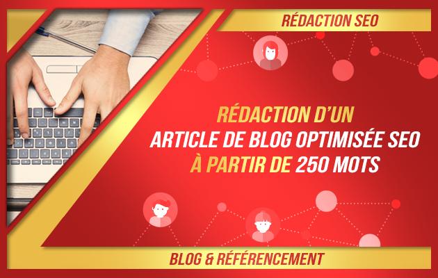 rédiger un article optimisé SEO pour votre blog