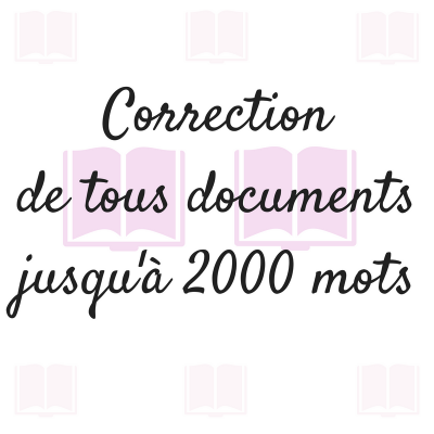 corriger vos textes et documents de 2000 mots