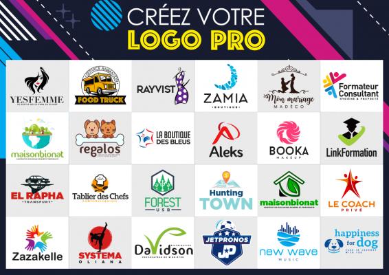 créer pour vous le logo parfait avec professionalisme et créativité