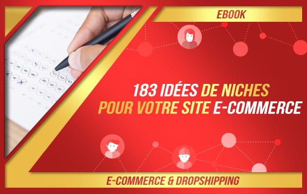 vous donner 183 idées de niches pour votre boutique en ligne