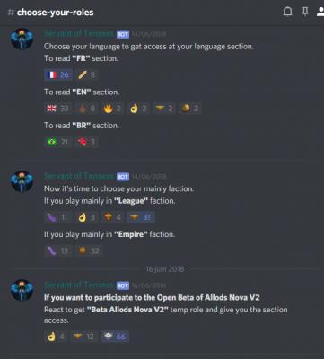 créer un bot discord