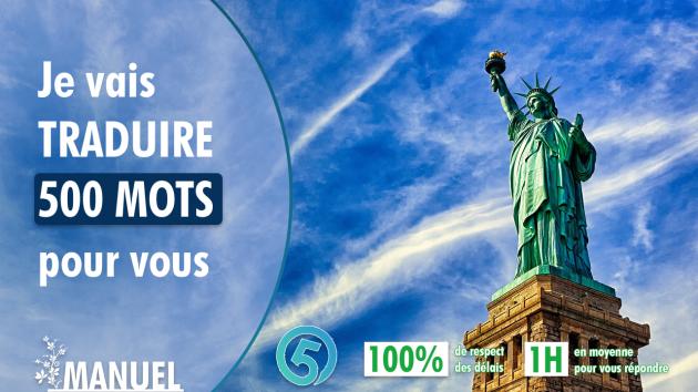 traduire 500 mots de l'anglais au français