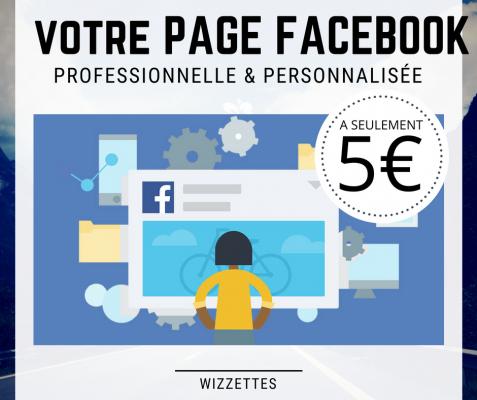créer une page Facebook professionnelle & la personnaliser