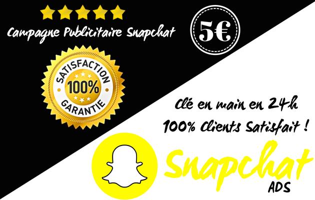 vous aider à mettre en place votre campagne publicitaire Snapchat
