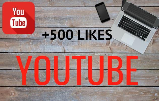 ajouter 500 likes réels à une ou plusieurs de vos vidéo(s) Youtube