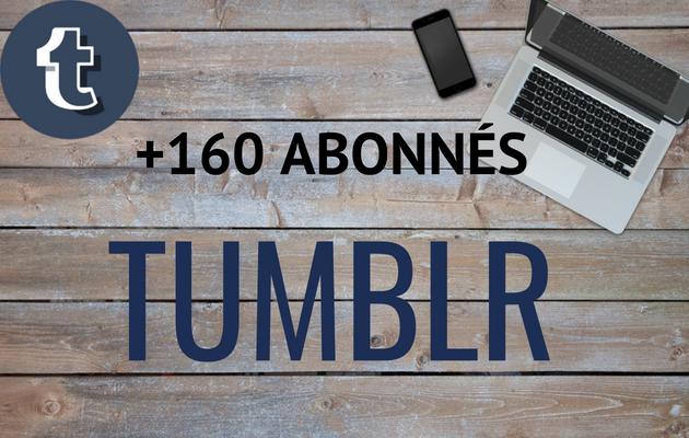 vous fournir 160 abonnés réels sur votre Tumblr
