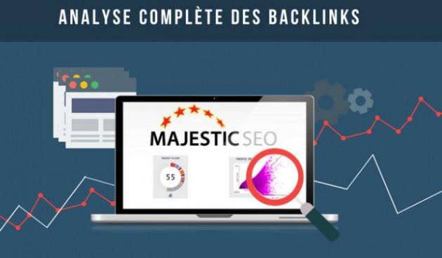 analyser les liens de votre site ou celui de votre concurrent (avec Majestic)