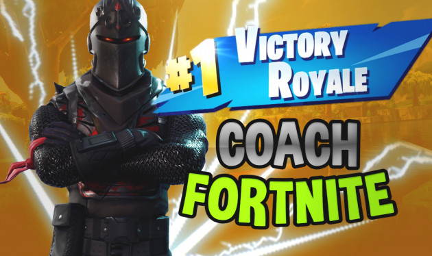 je vais devenir votre coach sur fornite battle royal pc