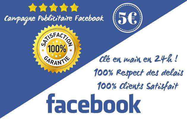 mettre en place votre campagne publicitaire Facebook en 24h