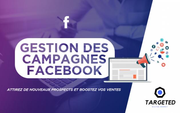 créer vos campagnes publicitaires sur Facebook