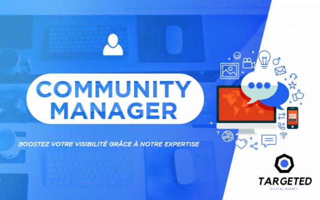 être votre Community Manager (réseaux sociaux)