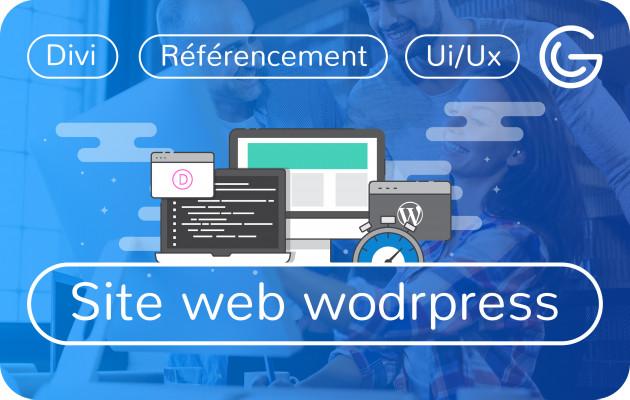 créer Votre Site Web Wordpress avec Divi
