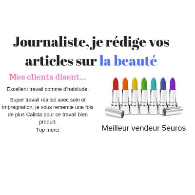 rédiger un texte professionnel de 200 mots sur les produits de beauté