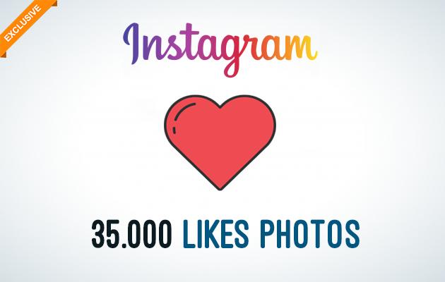 envoyer 35.000 Likes pour vos Photos sur Instagram
