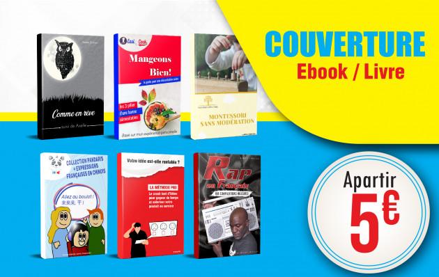 créer pour vous un COUVERTURE E-book / Livres