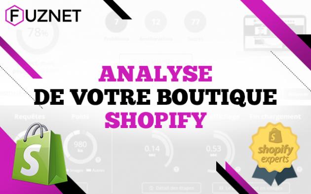 analyser votre boutique Shopify