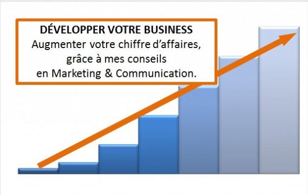 vous aidez à développer votre business et augmenter votre chiffre d'affaires