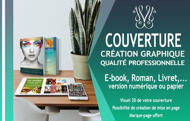 vous créer une couverture Ebook ou Livre papier design