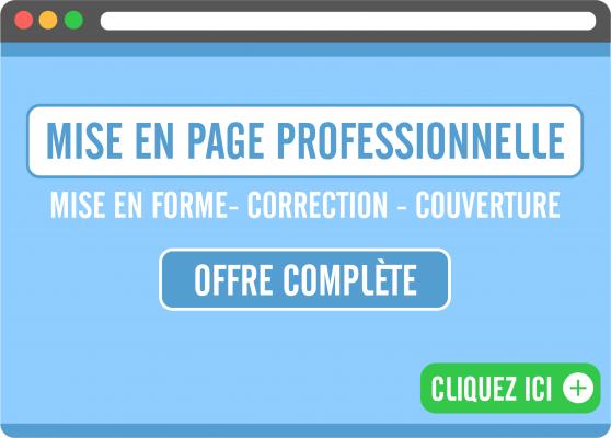 réaliser la mise en page professionnelle de votre document