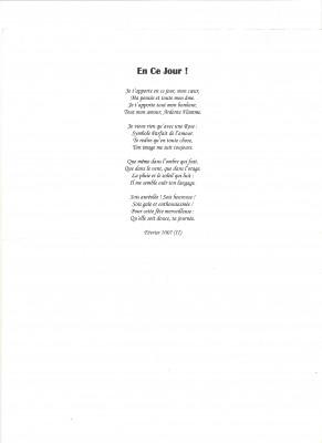 Je Vais écrire Un Poème En Vers En Prose Un Texte Damour Dhistoire De Sentiment Pour 5