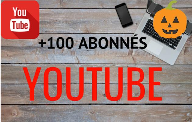 vous fournir 100 abonnés réels sur votre chaine Youtube