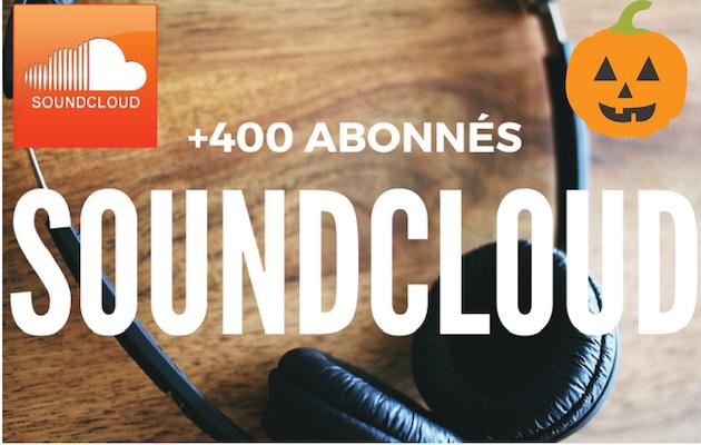 vous fournir 400 abonnés réels de plus sur votre profil SoundCloud