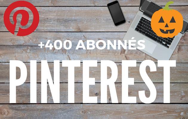 vous fournir 400 abonnés réels sur votre profil Pinterest